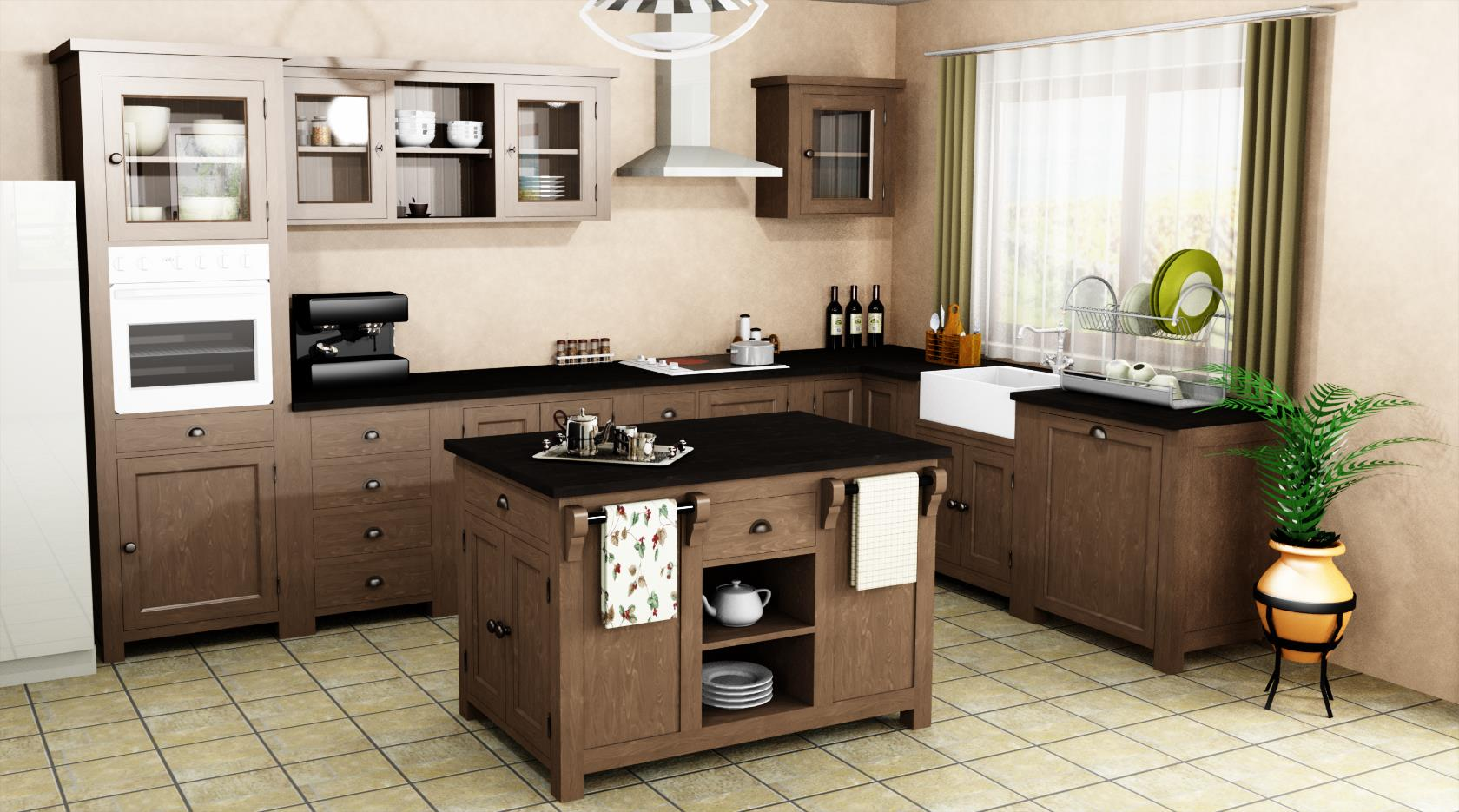 projet cuisine 3d great plan de cuisine d beautiful plan. Black Bedroom Furniture Sets. Home Design Ideas