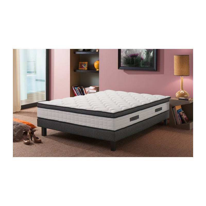 matelas kiss m moire de forme 140x190 le d p t des docks. Black Bedroom Furniture Sets. Home Design Ideas