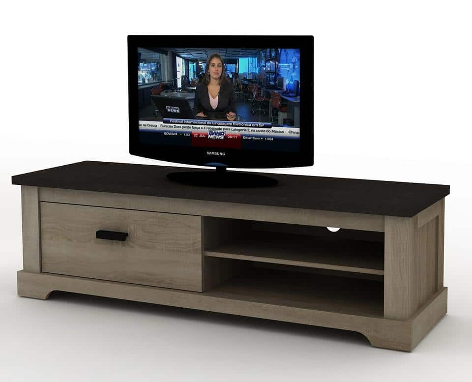 meuble tv contemporain 150cm calgary le d p t des docks. Black Bedroom Furniture Sets. Home Design Ideas