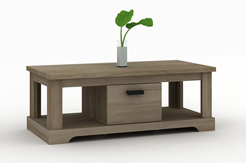Table basse contemporaine 120x60cm calgary le d p t des docks - Table basse contemporaine ...
