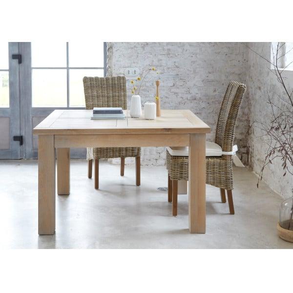 table de repas carr e contemporaine toronto 1 allonge. Black Bedroom Furniture Sets. Home Design Ideas