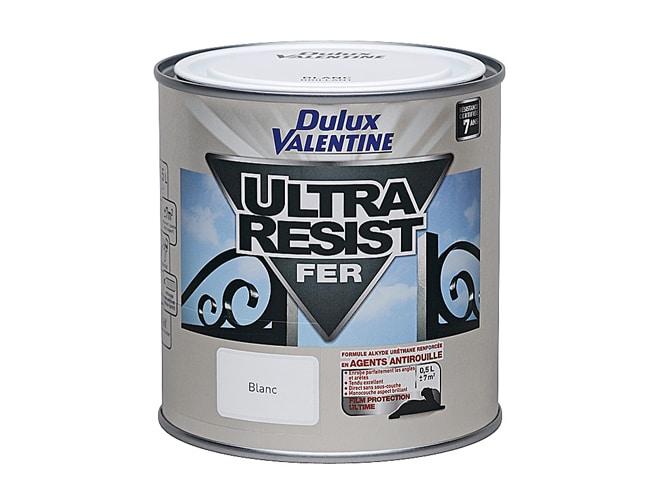 peinture ultra resist fer dulux valentine 0 5 l le d p t